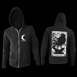 Black craft cult nevermore hoodie Hot Topic